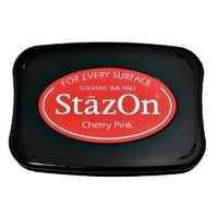 StazOn Ink Pad Cherry Pink