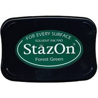 StazOn Ink Pad Forest Green