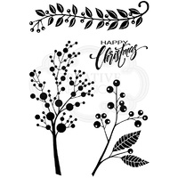 Woodware Clear Stamps Berry Sprays