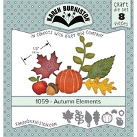 Karen Burniston Craft Dies Autumn Elements