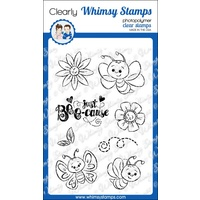 Whimsy Stamps Bee-cause