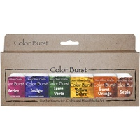 Ken Oliver Color Burst Powder 6/Pkg Earth Tones