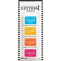 Ranger Letter It Stamping Ink Set #3