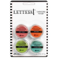 Ranger Letter It Embossing Powder Brights