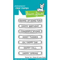 Lawn Fawn Stamps Ready, Set, Shake LF1060