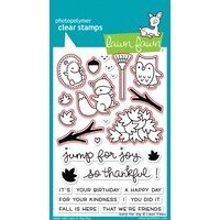Lawn Fawn Jump For Joy Stamp+Die Bundle