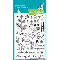Lawn Fawn Stamps Cheery Christmas LF1216