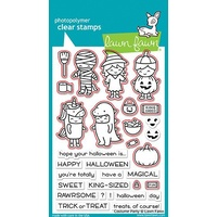 Lawn Fawn Costume Party Stamp+Die Bundle
