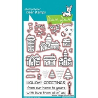 Lawn Fawn Winter Village Stamp+Die Bundle