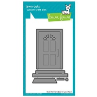 Lawn Fawn Cuts Shut The Front Door LF1495
