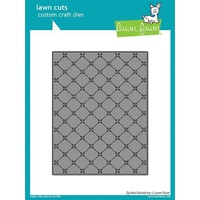 Lawn Fawn Cuts Quilted Backdrop LF1625
