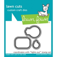 Lawn Fawn Cuts Lights Out LF1632