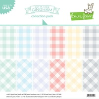 Lawn Fawn 12 x12 Double-Sided Gotta Have Gingham Collection Pack LF1648