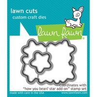 Lawn Fawn Cuts How you Bean? Star Add-On Dies LF1691