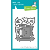 Lawn Fawn Cuts Tiny Gift Box Bat Add-On Die LF1789