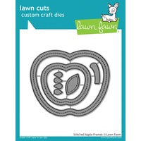 Lawn Fawn Cuts Stitched Apple Frames Die LF1796