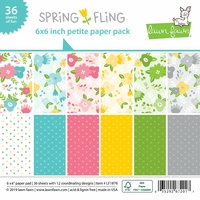 Lawn Fawn Petite Paper Pack 6x6 Spring Fling LF1876