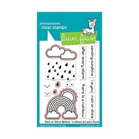 Lawn Fawn Rain Or Shine Before 'n Afters Stamp+Die Bundle