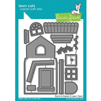 Lawn Fawn Cuts Build-A-House LF2046