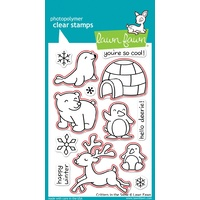 Lawn Fawn Critters In The Snow Stamp+Die Bundle