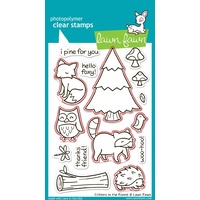 Lawn Fawn Critters In The Forest Stamp+Die Bundle