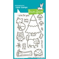 Lawn Fawn Stamps Critters in the Forest LF314