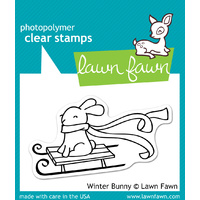 Lawn Fawn Stamps Winter Bunny LF327