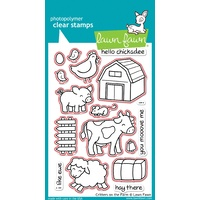 Lawn Fawn Critters On The Farm Stamp+Die Bundle