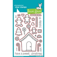 Lawn Fawn Sweet Christmas Stamp+Die Bundle