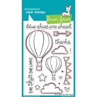 Lawn Fawn Blue Skies Stamp+Die Bundle