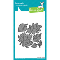 Lawn Fawn Cuts Stitched Leaves Dies LF577