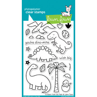Lawn Fawn Stamps Critters from the Past LF602