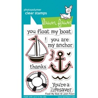 Lawn Fawn Float My Boat Stamp+Die Bundle