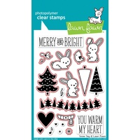 Lawn Fawn Snow Day Stamp+Die Bundle