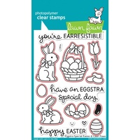 Lawn Fawn Eggstra Special Easter Stamp+Die Bundle