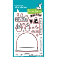 Lawn Fawn Ready Set Snow Stamp+Die Bundle