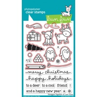 Lawn Fawn Toboggan Together Stamp+Die Bundle