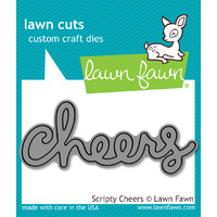 Lawn Fawn Cuts Scripty Cheers Die LF991