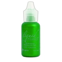 Liquid Pearls Dimensional Pearlescent Paint .5oz Ivy Green