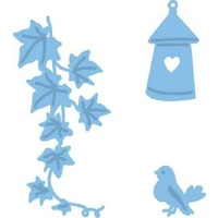 Marianne Design Dies Creatables Bird and Ivy LR0206
