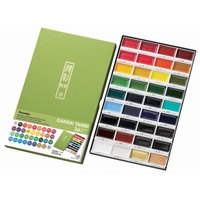 Kuretake Gansai Watercolour Tambi 36 Colour Set