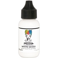 Dina Wakley Media White Gesso 29ml