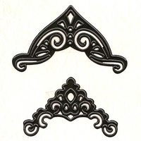 Nellie's Multi Frames Dies Corners Lace MFD027