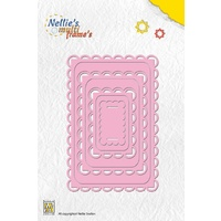 Nellie's Multi Frames Dies Rectangle 3 MFD048