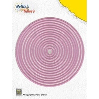 Nellie's Multi Frames Dies Straight Circle MFD055