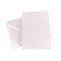 50 White A6 Cards 240gsm and C6 Envelopes