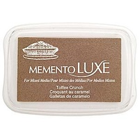 Memento LUXE Ink Pad Toffee Crunch