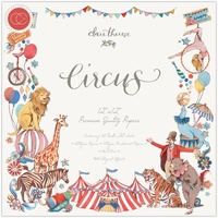 Craft Consortium Double-Sided Paper Pad 12X12 40/Pkg Circus