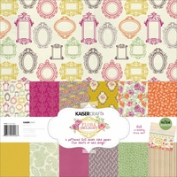 Kaisercraft 12x12 Paper Pack Flora Delight with BONUS Stickers