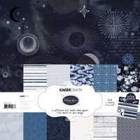 Kaisercraft 12x12 Paper Pack Stargazer with BONUS Stickers